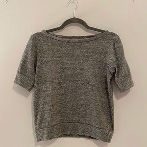 Grey Zara Cropped Top